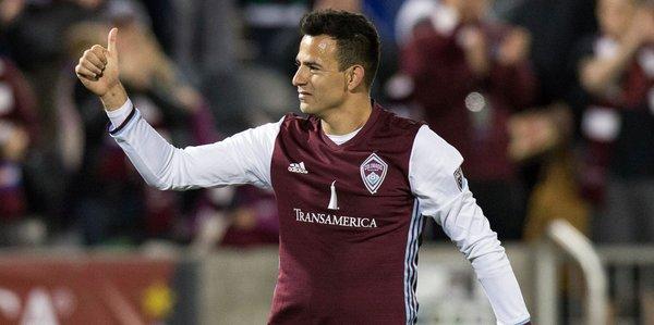 El gol de Marco Pablo en esa ocasión también estuvo nominado como el mejor de la semana por la MLS. (Foto Prensa Libre: Hemeroteca PL)