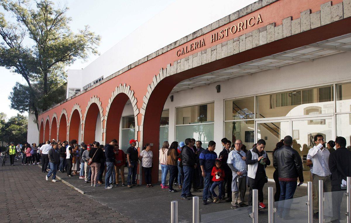 Residencia de Los Pinos, convertido ahora en un centro cultural. (Foto Prensa Libre: AFP)