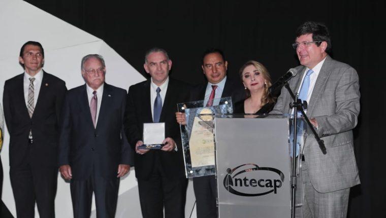 Ingenio La Unión, ganador del Galardón a la Productividad y Competitividad Ricardo Castillo Sinibaldi. (Foto Prensa Libre: Juan Diego González)