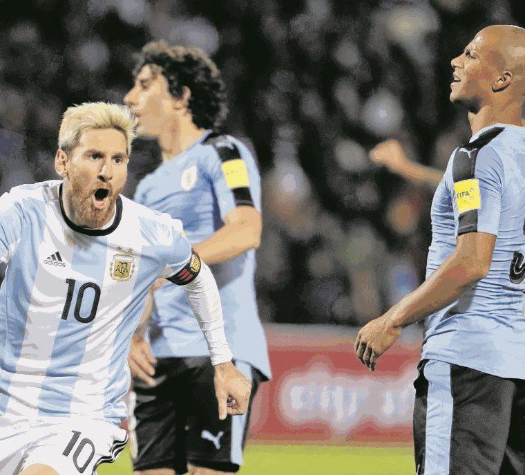 La Selección de Argentina vuelve a ser favorita de la mano de Lionel Messi. Hace cuatro años fueron subcampeones. (Foto Hemeroteca PL).