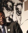 Pelé podría perderse el encendido del pebetero durante la inauguración de los Juegos. (Foto Prensa Libre: EFE).