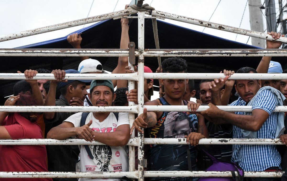 Más de 200 hondureños desisten de migrar y regresan al país