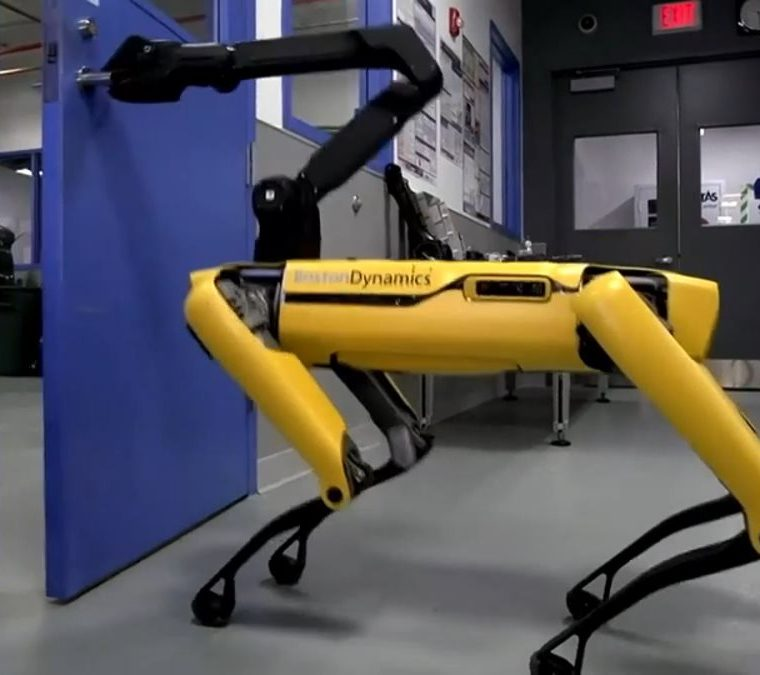 El robot que puede entrar a tu casa aunque tengas la puerta cerrada