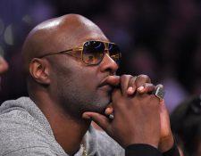 Lamar Odom lamenta que las drogas haya acabado con su carrera deportiva. (Foto Prensa Libre: AP)