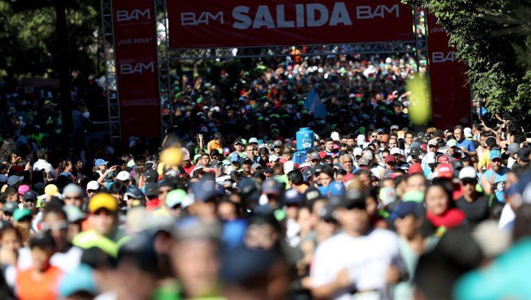La San Silvestre despide un año con muchos movimientos deportivos para Guatemala. (Foto Prensa Libre: Hemeroteca PL)