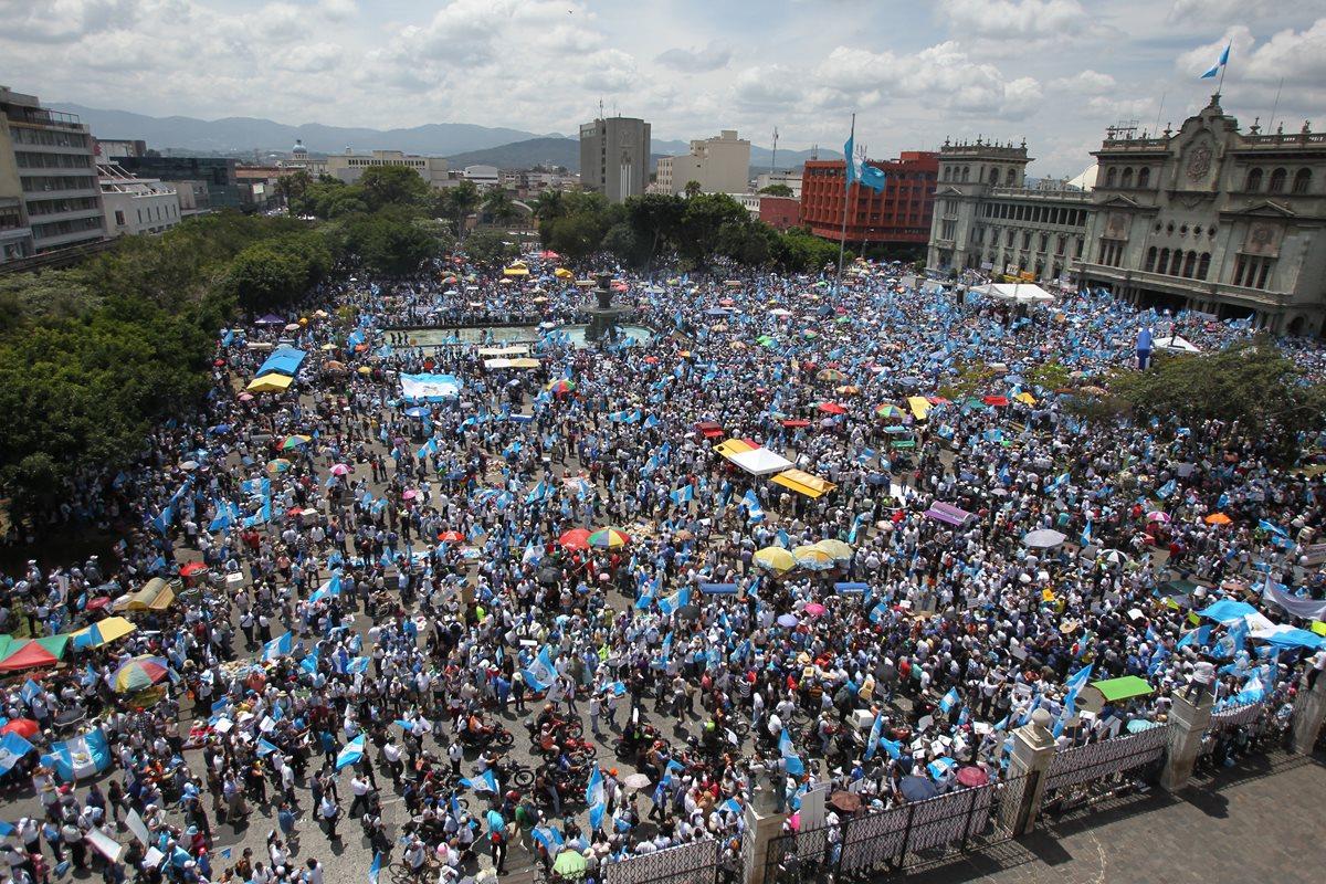 Resurgen manifestaciones pacíficas en Guatemala