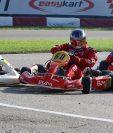 Los pilotos guatemaltecos se encuentran en Italia para competir en el Mundial de Easykarts. (Foto Prensa Libre: Gabriel López).
