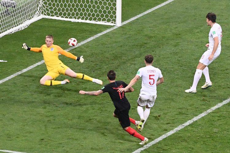 Mario Mandzukic anotó el gol de la clasificación a la final de Rusia 2018.
