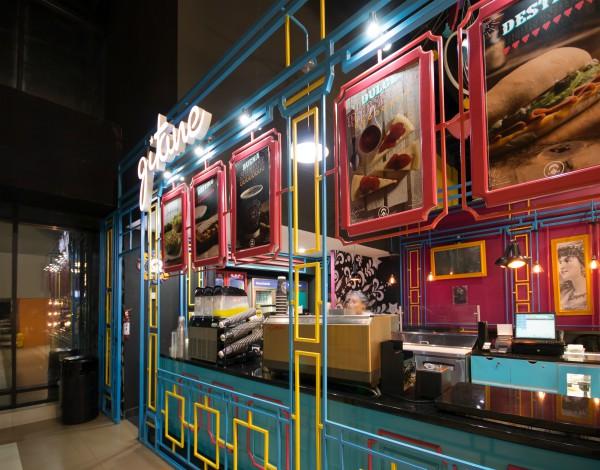 Combinación de colores y de diseños son parte de los establecimientos de las franquicias de Gitane. (Foto, Prensa Libre: Inversiones Moka).