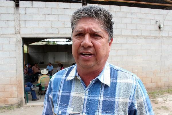 Pablo Aguilar Morales, alcalde de Sansare, El Progreso.