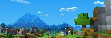 Minecraft, propiedad de Microsoft, tiene millones de jugadores en el mundo (Foto Prensa Libre: Microsoft).