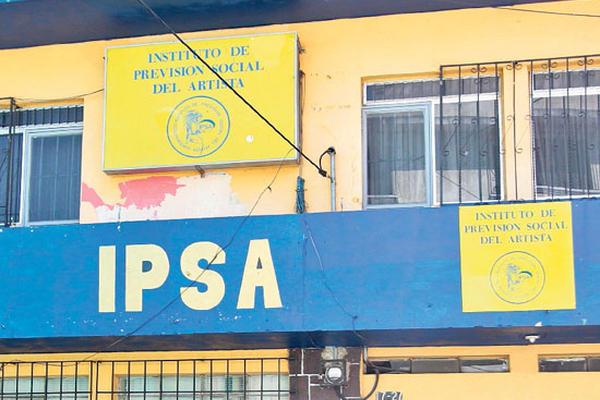 Sede del Ipsa, zona 1, entidad contra la cual se quejan varios artistas, por irregularidades.