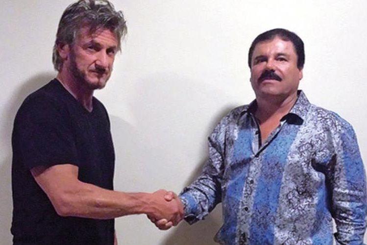 """Sean Penn narró para la revista Rolling Stone su encuentro con el narcotraficante """"El Chapo"""" Guzmán, donde estuvo presente Kate del Castillo. (Foto Prensa Libre: Hemeroteca PL)"""