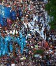 Miles de argentinos se manifiestan contra Mauricio Macri. (Foto Prensa Libre: AFP).