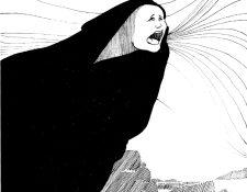 Según la creencia, cuando se percibe que el llanto de La llorona está alejado, en realidad está cerca.