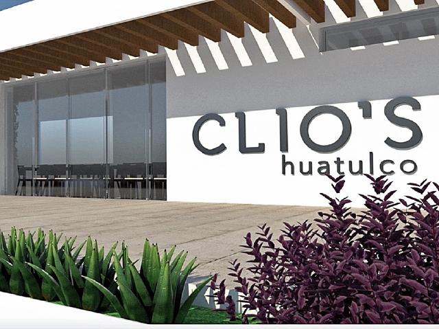 Así será la fachada del restaurante guatemalteco Clio's que abrirá próximamente en una bahía de Huatulco, México. (Foto Prensa Libre: Cortesía Clio´s)