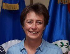 Carolyn Davidson, embajadora británica en Guatemala. (Foto Prensa Libre: Hemeroteca PL)