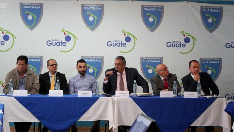 El Comité Ejecutivo de la Fedefut tiene que dar a conocer el 8 de mayo su renuncia a la Asamblea del futbol. (Foto Prensa Libre: Hemeroteca PL)