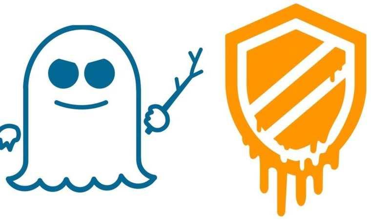 """Estos son los logos oficiales de los """"bugs"""" o fallos de seguridad conocidos como Spectre y Meltdown."""