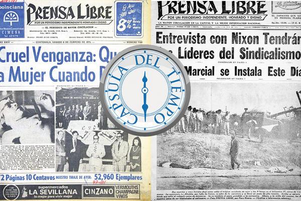 Hemeroteca: 8 de febrero de 1975 y 1955