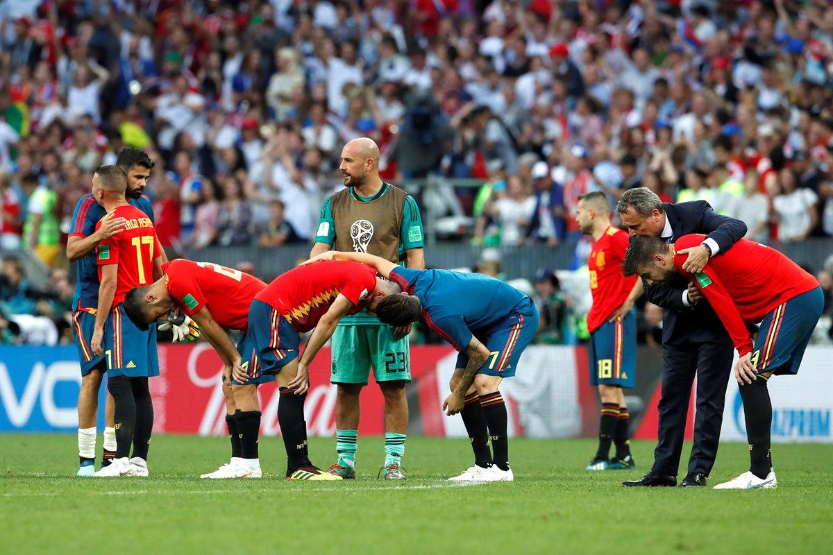 Rusia elimina a España en la tanda de penaltis