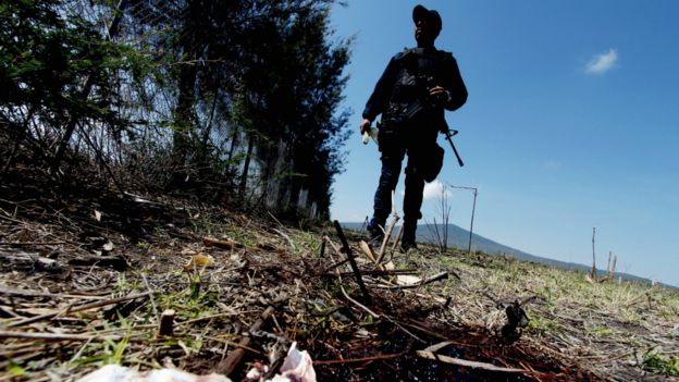 En 2017 se cometieron 29.168 homicidios violentos en México. (Getty Images)