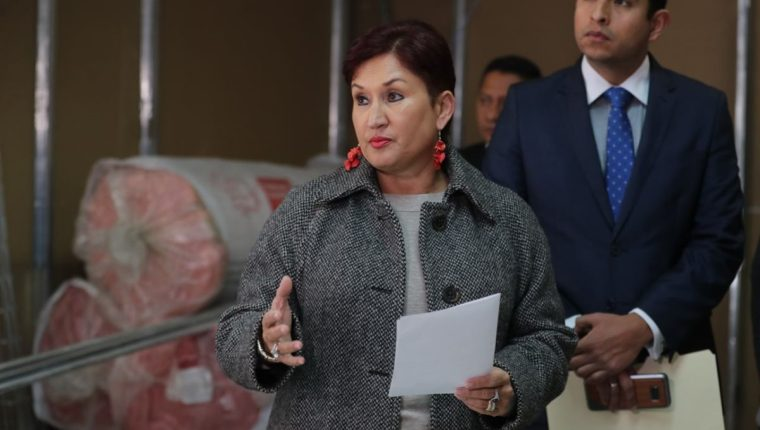 Un juzgado civil detuvo una pesquisa contra la exfiscal Thelma Aldana. (Foto Prensa Libre: Hemeroteca PL)