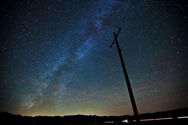 El cometa debería verse con claridad de noche, tanto en el Hemisferio Sur como Norte. GETTY IMAGES