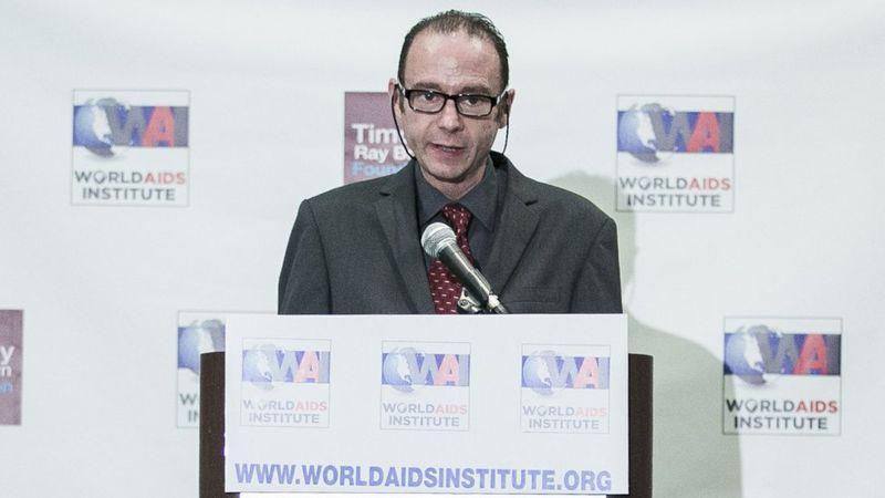 """Timothy Brown, """"el paciente de Berlín"""", es considerada la única persona en el mundo curada del VIH."""