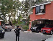 Una de las casas allanadas a principios de mayo por el caso Industria Militar. (Foto Hemeroteca PL)