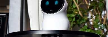 Junto a CLOi, LG ha relanzado TinQ: la plataforma de la compañía para electrodomésticos inteligentes. (Foto Prensa Libre: AFP)