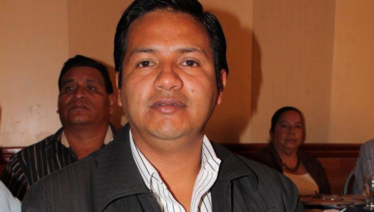 Selvin Villatoro Recinos, alcalde de Aguacatán, Huehuetenango, es señalado de varios delitos. (Foto Prensa Libre: Mike Castillo)