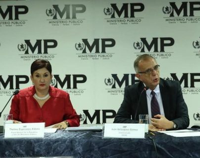 La organización Wola destacó los esfuerzos de Thelma Aldana e Iván Velásquez contra la corrupción y la impunidad. (Foto: Hemeroteca PL)