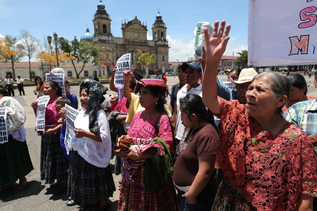 Vecinos de Chicoyogüito piden que se devuelvan tierras desalojadas hace 50 años