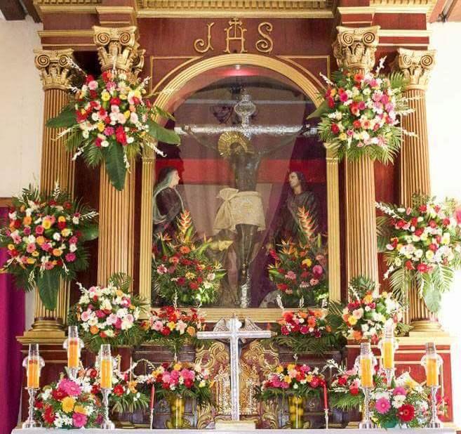 La veneración a la imagen del Cristo Negro de Taxisco se registra por primera vez en 1678, pero puede ser más antigua. (Foto Prensa Libre: Alejandra García)