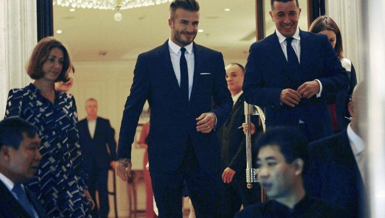 Beckham es uno de los exjugadores que mayor éxito ha obtenido tras retirarse de las canchas y dedicarse a otros negocios como el modelaje. (Foto Prensa Libre: Hemeroteca)