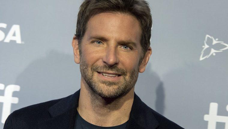 El actor Bradley Cooper fue director y protagonista de la cinta A Star is Born. (Foto Prensa Libre: EFE).