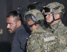 Jorge Iván Gastélum Vila, alias el Cholo Iván, jefe de seguridad del Chapo Guzmán. (Foto Prensa Libre: AP).