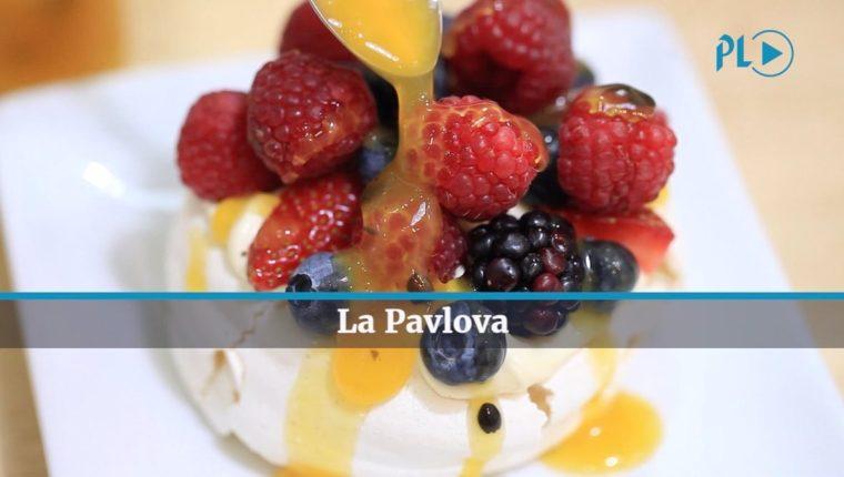 La Pavlova es un postre preferido de la Chef Camila Simán. (Foto Prensa Libre: Juan Carlos Rivera)