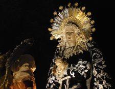 Consagrada Imagen de Nuestra Señora de Soledad del Templo de Santo Domingo. (Foto: Néstor Galicia)