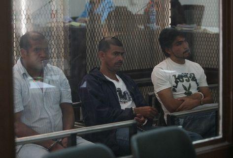 Miembros del grupo de narcos supuestamente vinculados con Wálter Hort Overdick. (Foto Prensa Libre: Archivo)