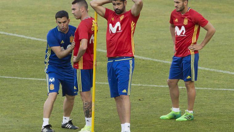 Diego Costa anunció que ya continuará en el Chelsea. (Foto Prensa Libre: AFP)