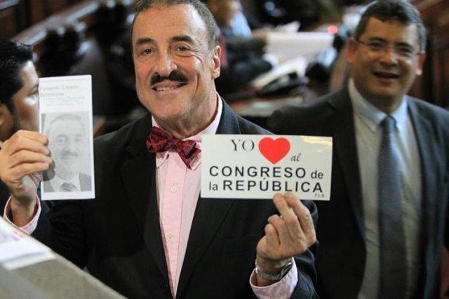 Diputado Fernando Linares tiene una denuncia por discriminación de Conadi. (Foto Prensa Libre: Hemeroteca PL)