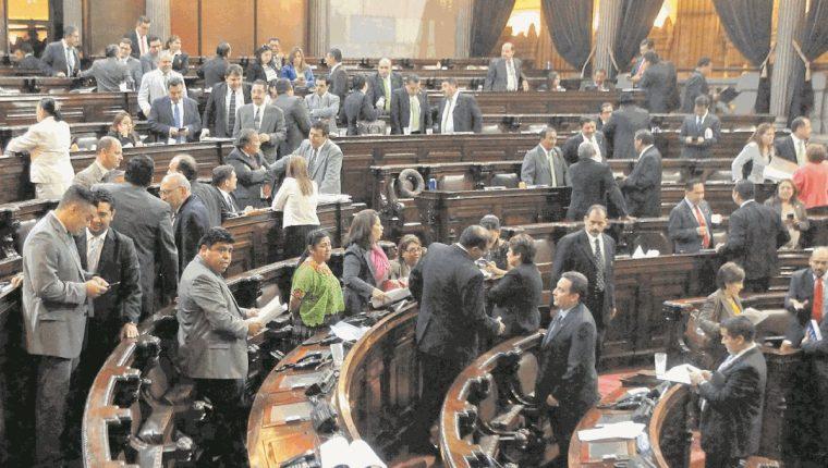 El Congreso se repartió las comisiones de trabajo, el partido Encuentro por Guatemala acciona por irregularidades. (Foto Prensa Libre: Hemeroteca PL)