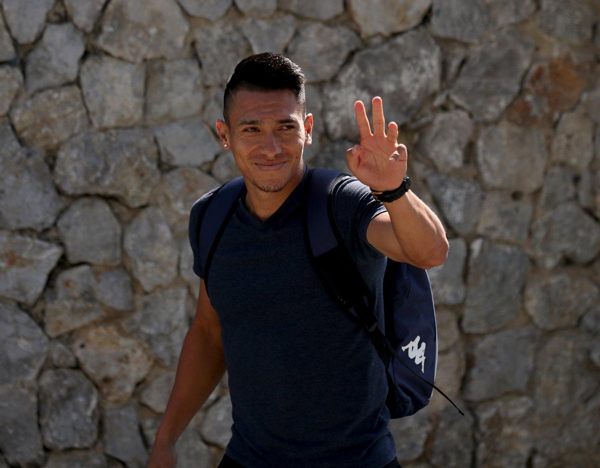 Rafa Morales está ilusionado por jugar la llave de acceso a semifinales. (Foto Prensa Libre: Carlos Vicente)