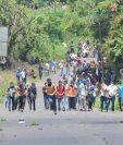 Hacia varias áreas del país se ha extendido la conflictividad contra proyectos o servicios del sector de electricidad. (Foto, Prensa Libre: Hemeroteca PL).
