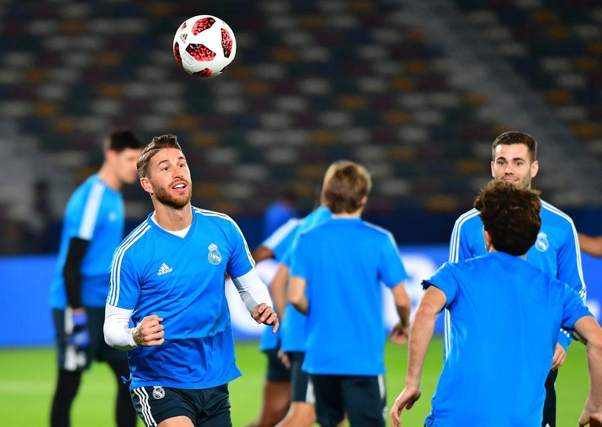 Los jugadores de Real Madrid buscarán ganar su tercer Mundial de Clubes consecutivo. (Foto Prensa Libre: AFP)