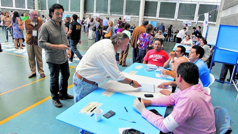 El presente proceso electoral marca nuevas reglas para los partidos políticos. (Foto Prensa Libre: Hemeroteca PL)