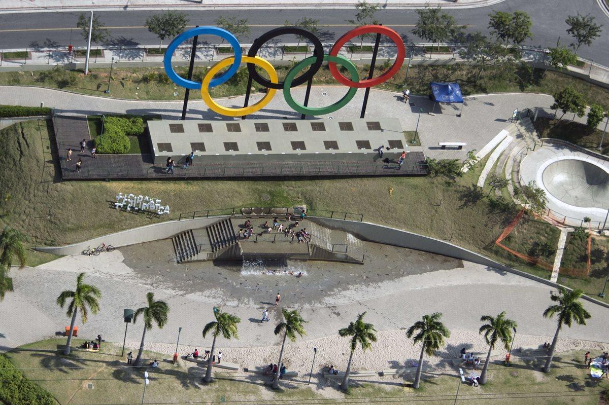 Vista aérea del estadio Olímpico Nilton Santos. (Foto Prensa Libre: AFP)
