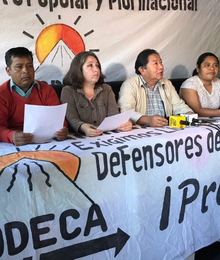 Codeca anunció bloqueos para el martes y miércoles en 14 departamentos del país. (Foto Prensa Libre: Cortesía)